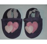 Giggle Life Leather Baby Shoes Hearts M076
