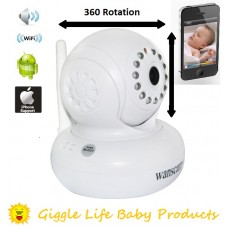 Giggle Life Baby Monitor Wireless Wifi Security Camera IP Smartphone