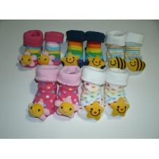 Giggle Life 0-6 Months Cute Newborn Baby Socks